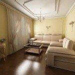 Варианты дизайна гостиной или полы в интерьере