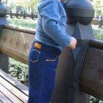 Стильные штанишки-джинсы с 3 месяцев до 2-хлет