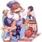 Русская сказка Глиняный парень