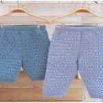 Вяжем детские штанишки. Инструкции и схемы.