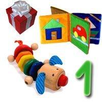 Какие игрушки лучше давать ребенку от 1 года?