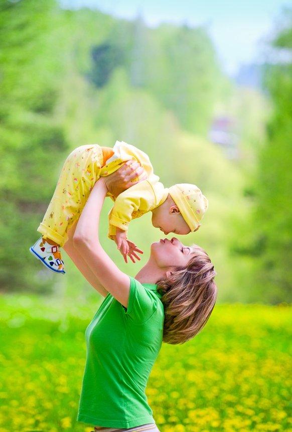лето с малышом