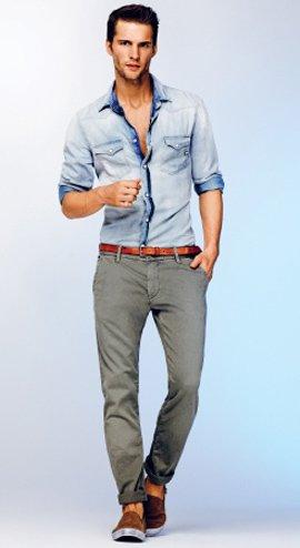 Стиль Кэжуал (Casual) в одежде у мужчин и женщин.