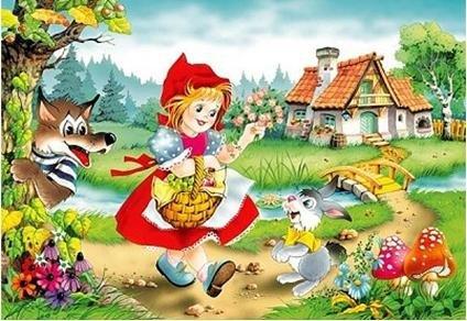 Сказка для детей. Красная шапочка.