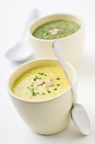 Суп пюре из антоновки с рисом.