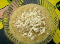 Картофельный суп с цветной капустой и сыром