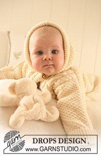 Конверт вязаный для новорожденного