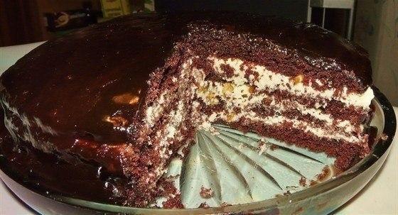 Торт «Старая Прага»