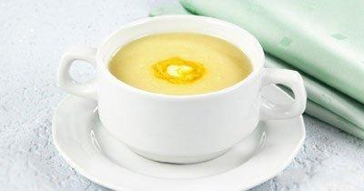 Суп-пюре из кабачков и цветной капусты с одного года