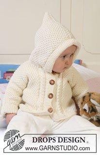 Очаровательный жакет с капюшоном для малыша 4-6 месяцев