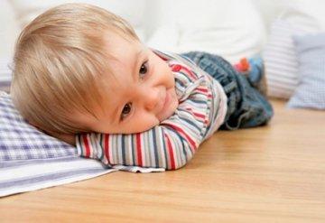 Легкий и прочный мягкий детский пол.