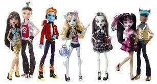 Фэшн-куклы Школа Монстров