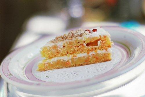 Морковный тортик для лапушек с одного года